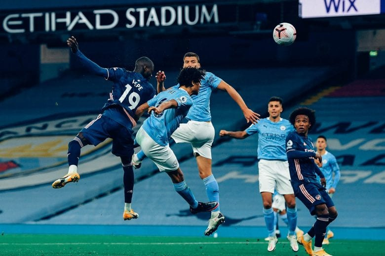 Eficiente, Manchester City supera o Arsenal e se recupera no Inglês