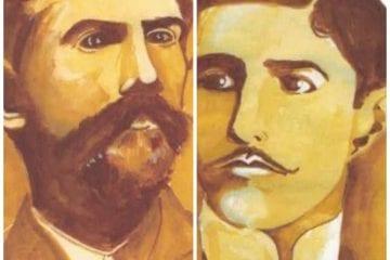 Personagens itabiranos: Ti Brás e Eurico Camillo de Oliveira