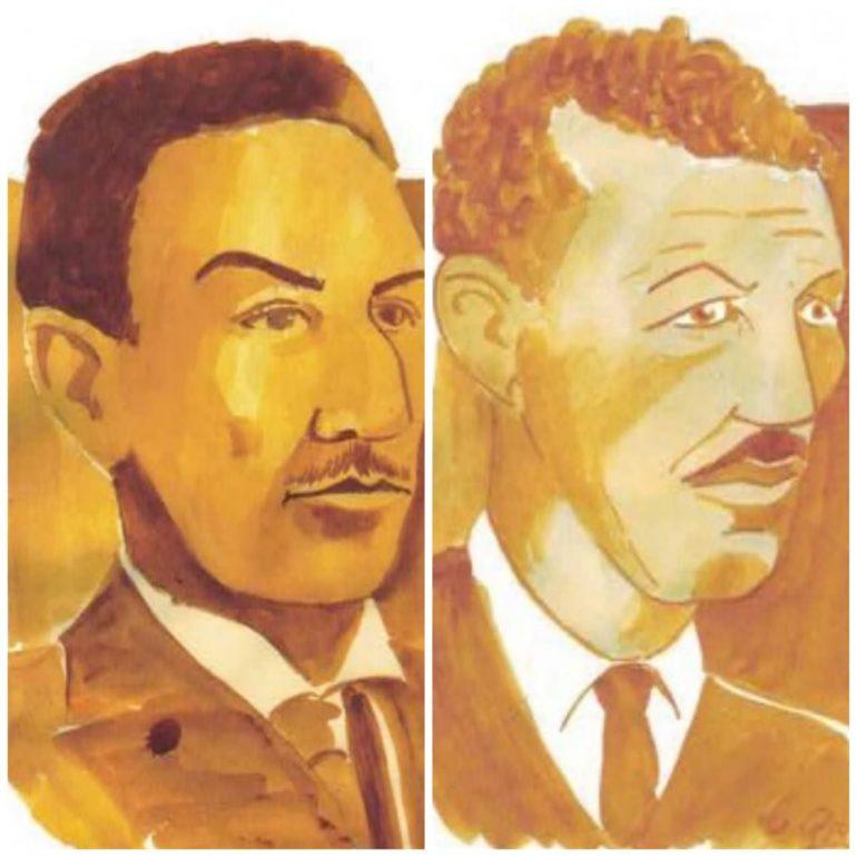 Personagens itabiranos: Antônio Linhares Guerra  e Alfredo Duval