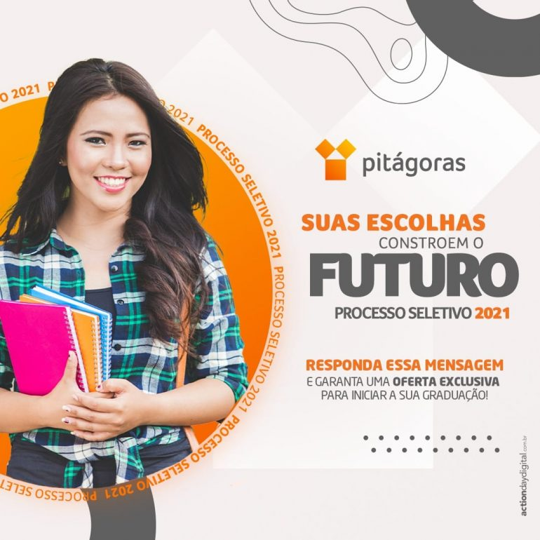 Pitágoras Itabira oferece plataforma de preparação pro Enem e inscrição gratuita em vestibular