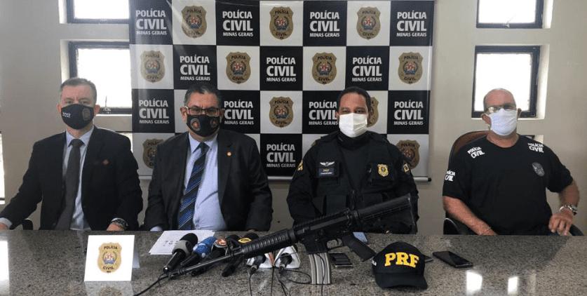 Polícia Civil e PRF prendem na BR-381 um dos criminosos mais procurados do país