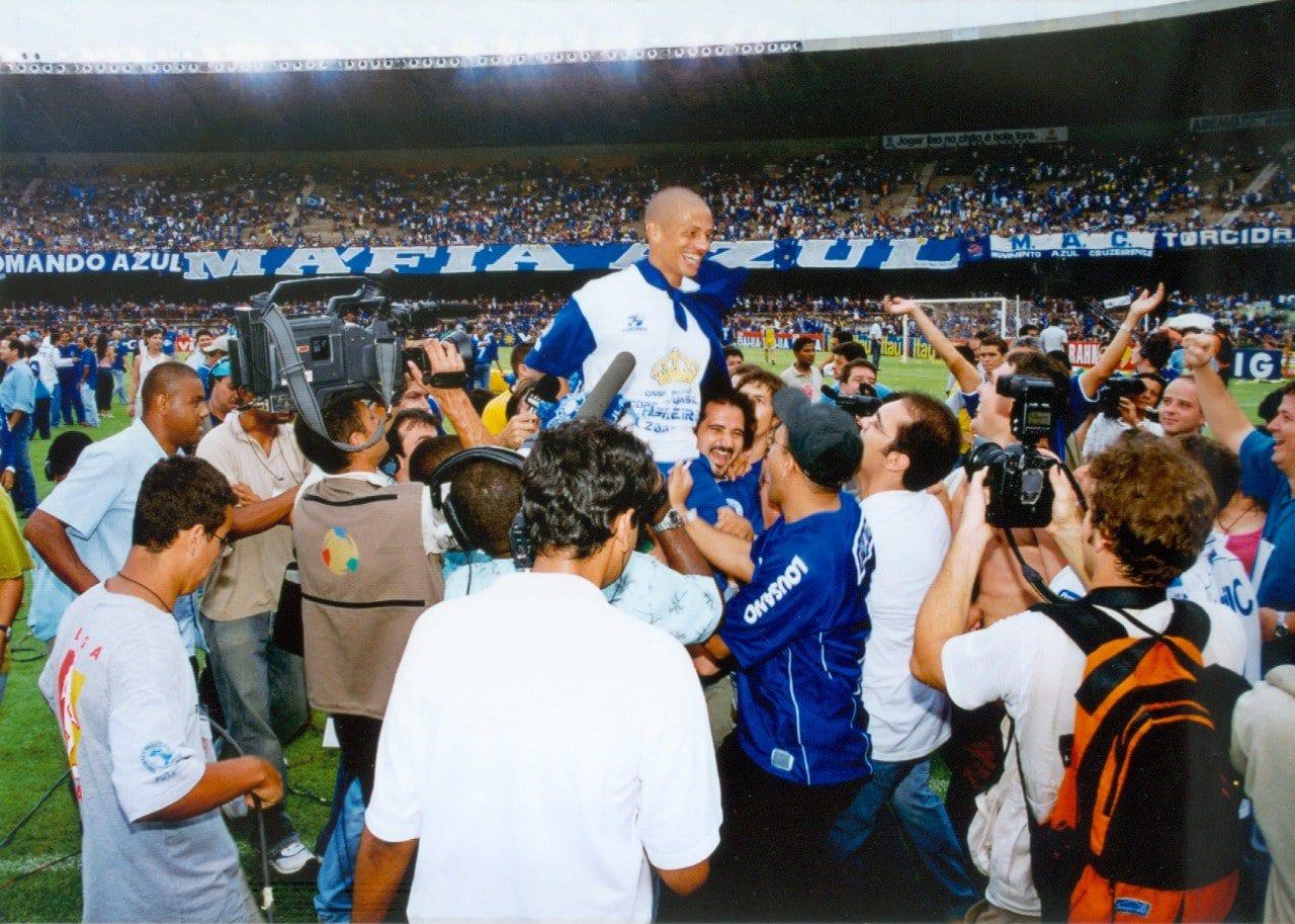 Há 17 anos, Cruzeiro conquistava a tríplice coroa