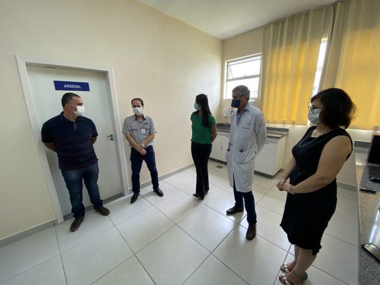 Hospital Carlos Chagas novos leitos
