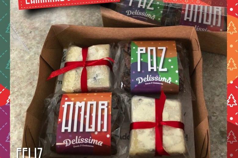 Campanha de Natal da Delíssima tem sobremesas variadas e deliciosas