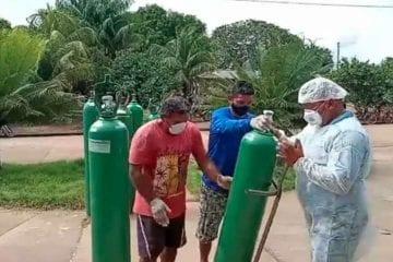 Cidade do Pará entra em colapso por falta de oxigênio e tem 6 mortes em 24h