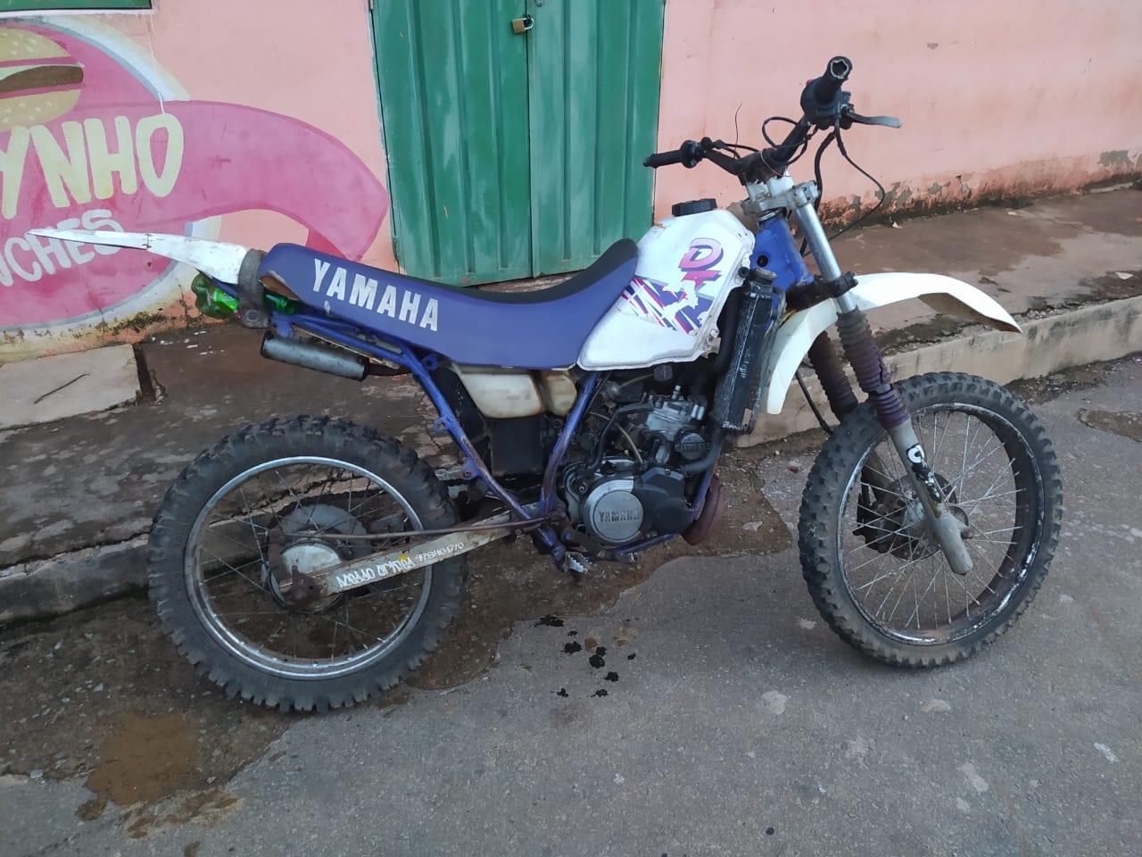 Polícia Militar recupera motocicleta furtada no pátio do Detran em Santa Bárbara