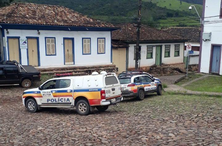 Foragido é preso após assaltar agência dos Correios em Catas Altas