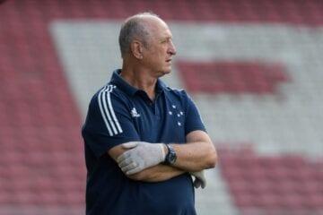 Após rescisão amigável, Felipão não é mais treinador do Cruzeiro
