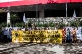 Brumadinho: atingidos pela tragédia protestam contra acordo com a Vale