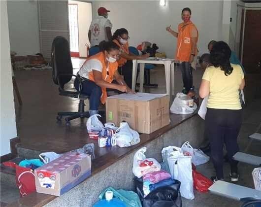Itabira segue recebendo doações para Santa Maria de Itabira