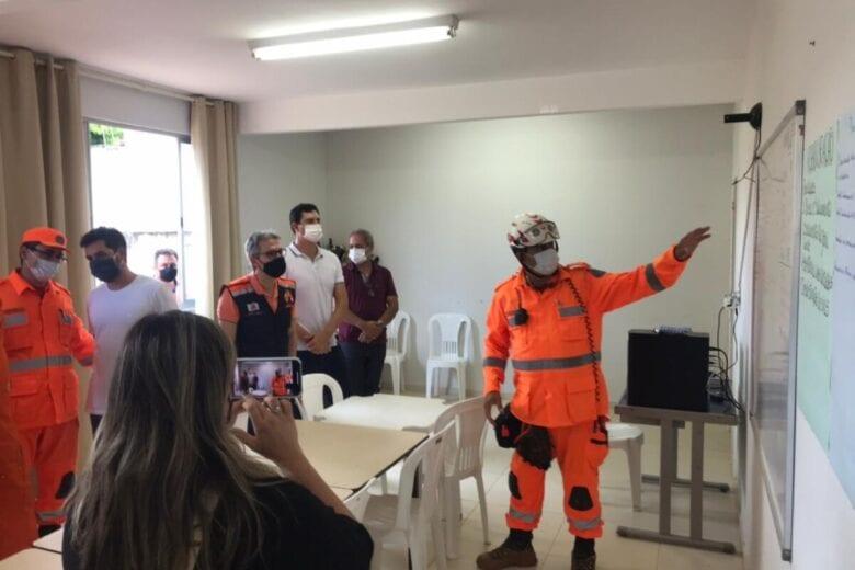 Operações de resgate em Santa Maria de Itabira seguem com 54 profissionais em campo