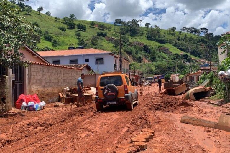 Em Santa Maria de Itabira, 129 famílias estão desalojadas