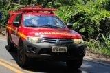 Bombeiros procuram homem que desapareceu no rio em Ferros