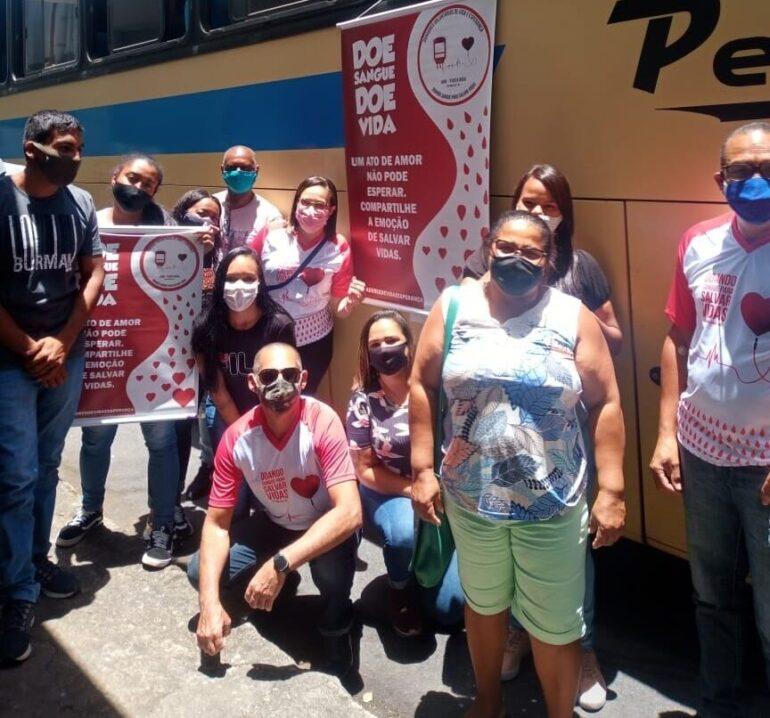Parceria com a Prefeitura de Monlevade garante transporte a doadores de sangue