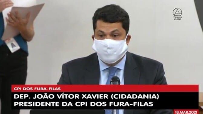 ALMG: deputado João Vítor Xavier presidirá CPI dos fura-filas da vacina