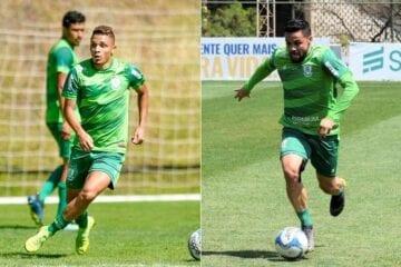 Lesionados, Geovane e Felipe Azevedo desfalcam América no Mineiro
