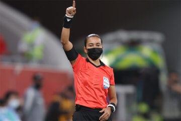 Edina Alves será primeira mulher a dirigir clássico Corinthians x Palmeiras