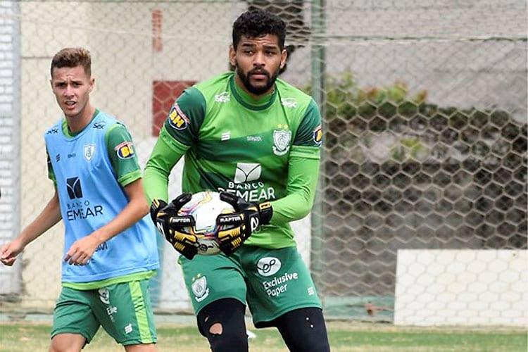 América empresta o goleiro Jori ao Coimbra até o fim do Campeonato Mineiro