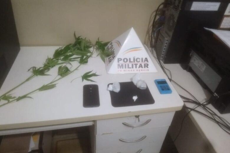 Mulher de 20 anos é detida com maconha e cocaína em Ferros