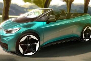 Volkswagen revela desenho do elétrico ID.3 conversível