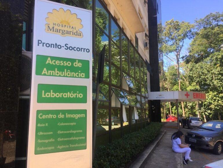 Em alta: Hospital Margarida atende 20 pacientes no setor de combate ao coronavírus