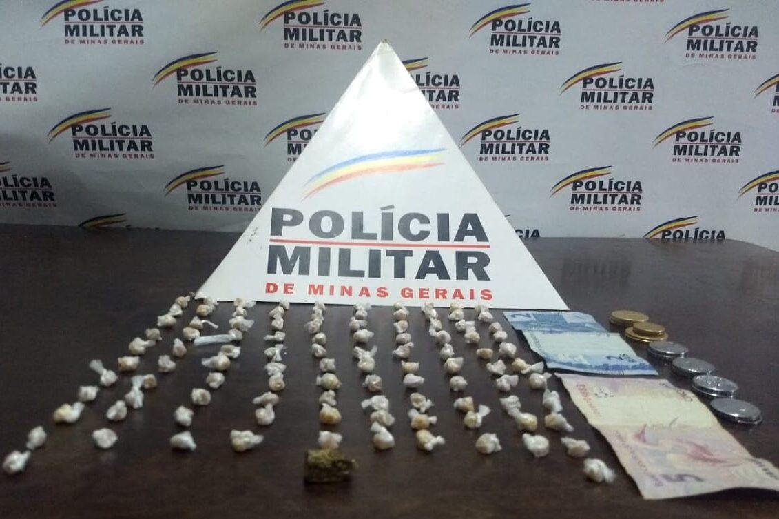 Polícia Militar faz apreensão de drogas em Santa Bárbara