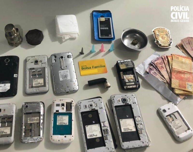 Polícia Civil prende trio suspeito de tráfico de drogas em Capelinha