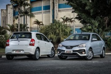 Toyota Etios sai de linha em abril no Brasil