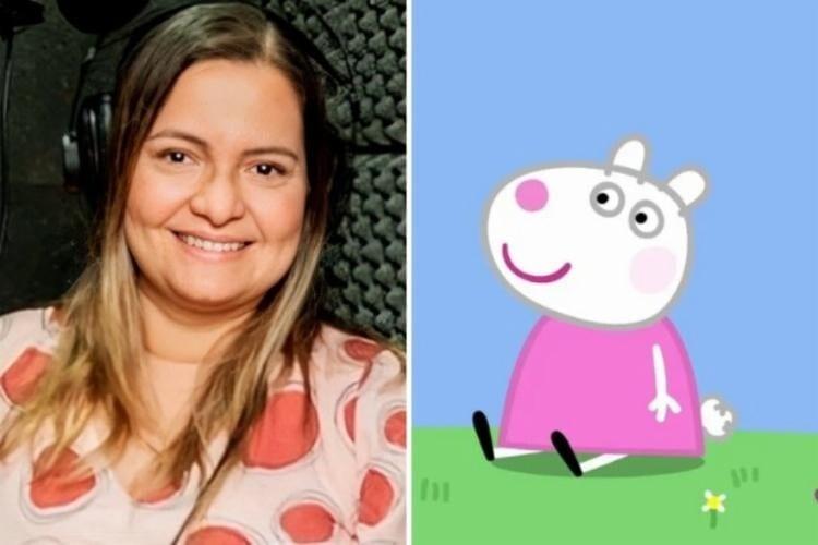 Morre a dubladora da 'Peppa Pig', Ana Lúcia Menezes