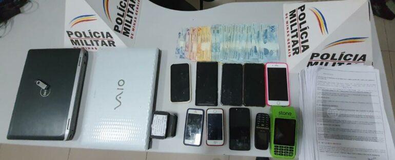 PM de Ipatinga prende quadrilha responsável por estelionatos em várias cidades