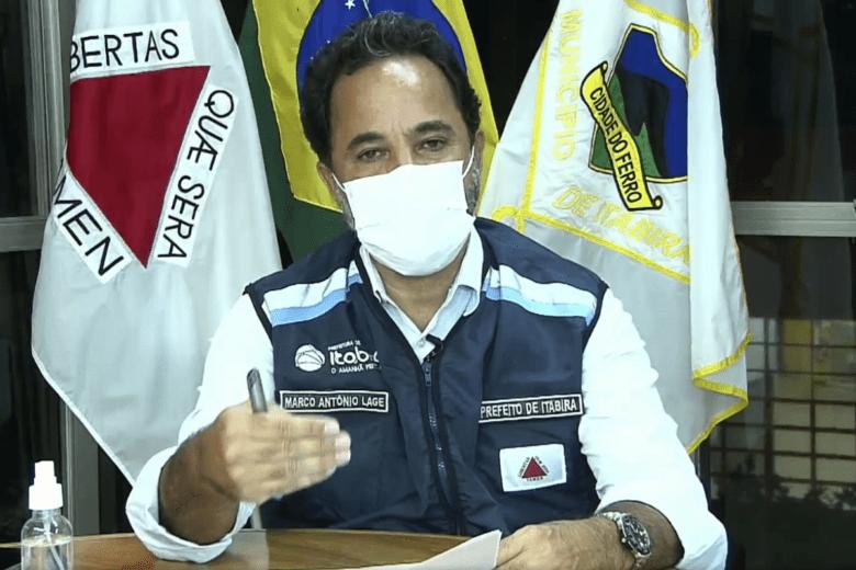 Marco Antônio diz que Prefeitura prepara empréstimo para o empresariado itabirano com juro 'próximo de zero'