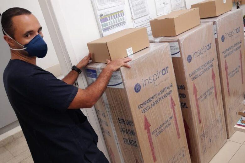 Coronavírus: São Gonçalo compra três novos respiradores