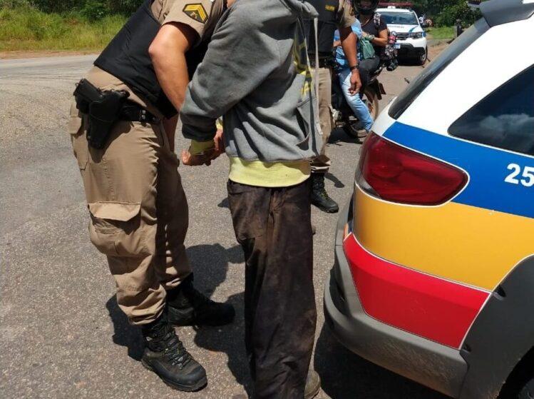 Policiais detém suspeitos de roubo na região com auxílio de helicóptero