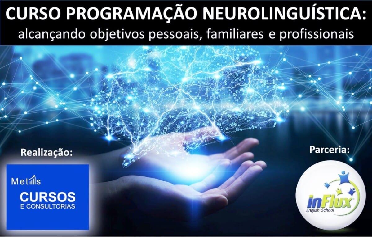 Metas Cursos e Consultorias e Influx se unem para oferecer curso de Programação Neurolinguística