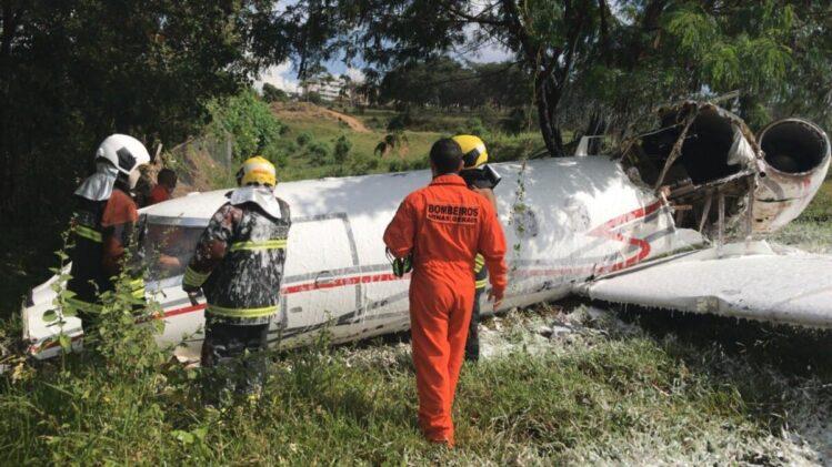 Acidente com avião deixa um morto no aeroporto da Pampulha