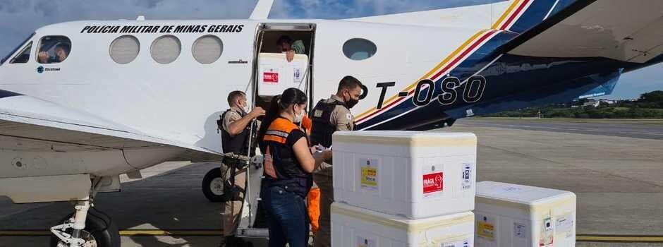 Estado distribui 701.200 doses de vacinas contra a covid-19