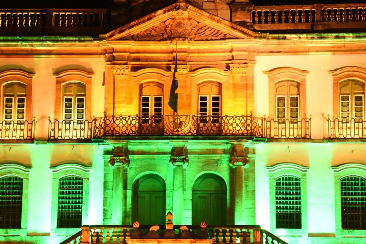 A homenagem à Inconfidência em Ouro Preto; veja fotos