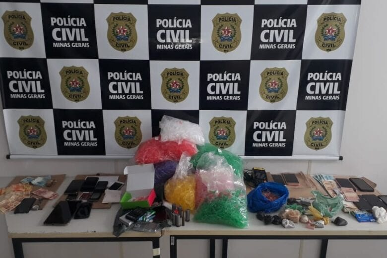 Operação da PCMG coíbe tráfico e homicídio em Coronel Fabriciano