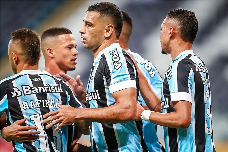 Grêmio atropela Aragua com goleada histórica e segue líder na Sul-Americana