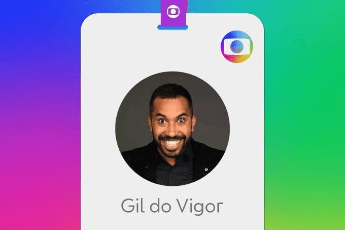 Ex-participante do 'BBB 21', Gil do Vigor é contratado pela TV Globo
