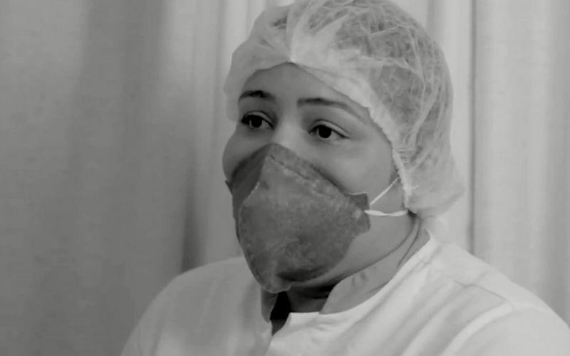 Enfermeira fala sobre a tristeza de quem perde um familiar para a Covid-19