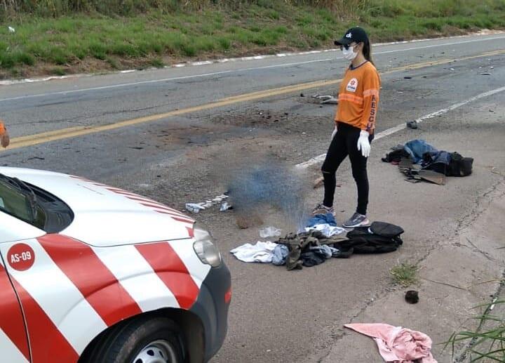 Tentativa de fuga resulta em acidente com morte na BR-381