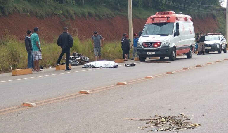 Adolescente tem a cabeça decepada em acidente de moto em Itabira