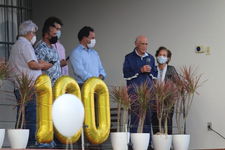 Prefeitura de Itabira celebra centenário de Dr. Colombo e reúne mais de 50 pessoas