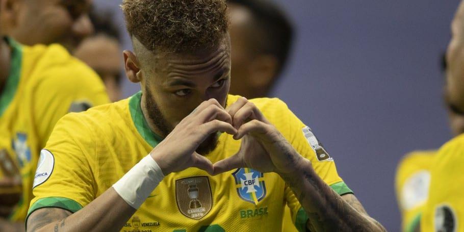 Na abertura da Copa América, Brasil vence a Venezuela por 3 a 0