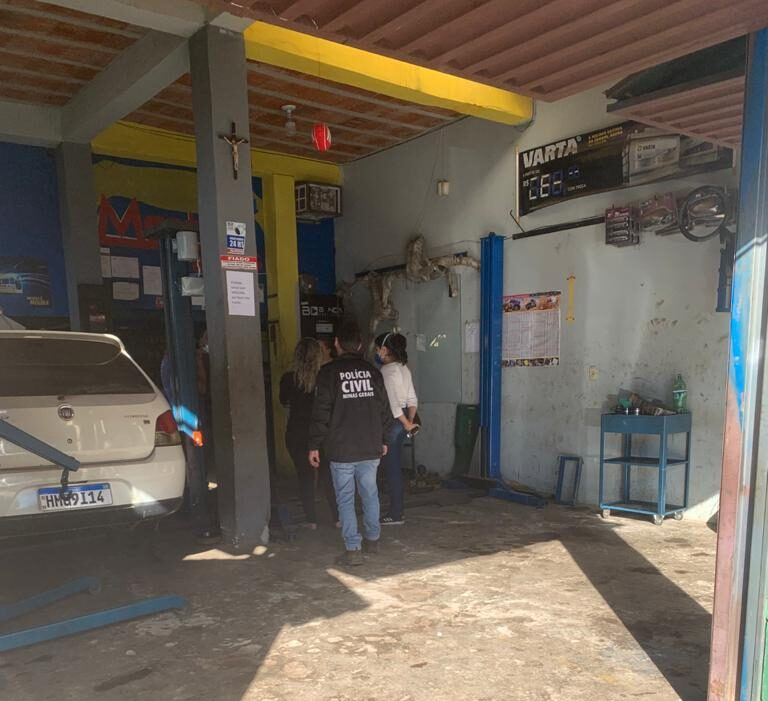 """Polícia Civil prende homem que agrediu adolescente com """"chave de boca"""" em Barão de Cocais"""