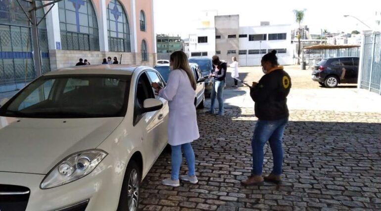 Prefeitura de João Monlevade vacina trabalhadores do ensino profissionalizante e EJA