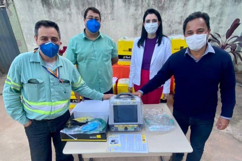 Itabira recebe dez respiradores para reforçar atendimento de pacientes com Covid-19