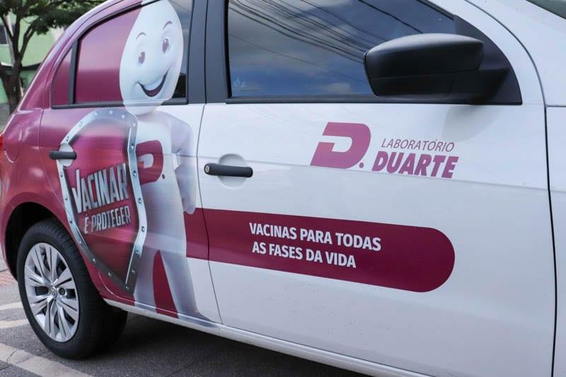 Laboratório Duarte oferece vacina em domicílio e se prepara para lançar novas salas de imunização