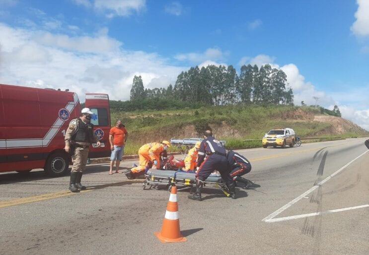 Mulher vítima de acidente em Itabira morre em Belo Horizonte